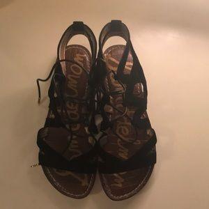 Shoes - Black gladiator sandals